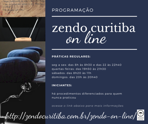 Post Zendo on line